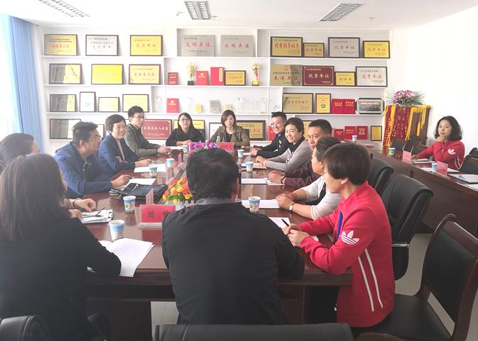 中国听力语言康复研究中心龙墨主任一行来我市督导听力语言教改工作